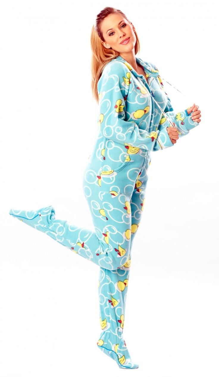 Footy pajama butt sex