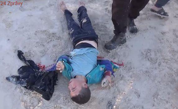 Toxické peklo v Idlibu: Bombardovali jsme sklad zbraní islamistů, tvrdí Asadův ministr