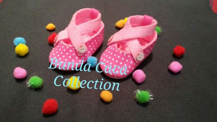 Baby shoes flanel