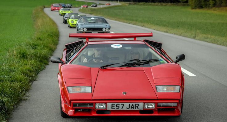 Raging Bulls Gather In Switzerland For First Lamborghini Concours d'Elegance [50 Photos  Video]