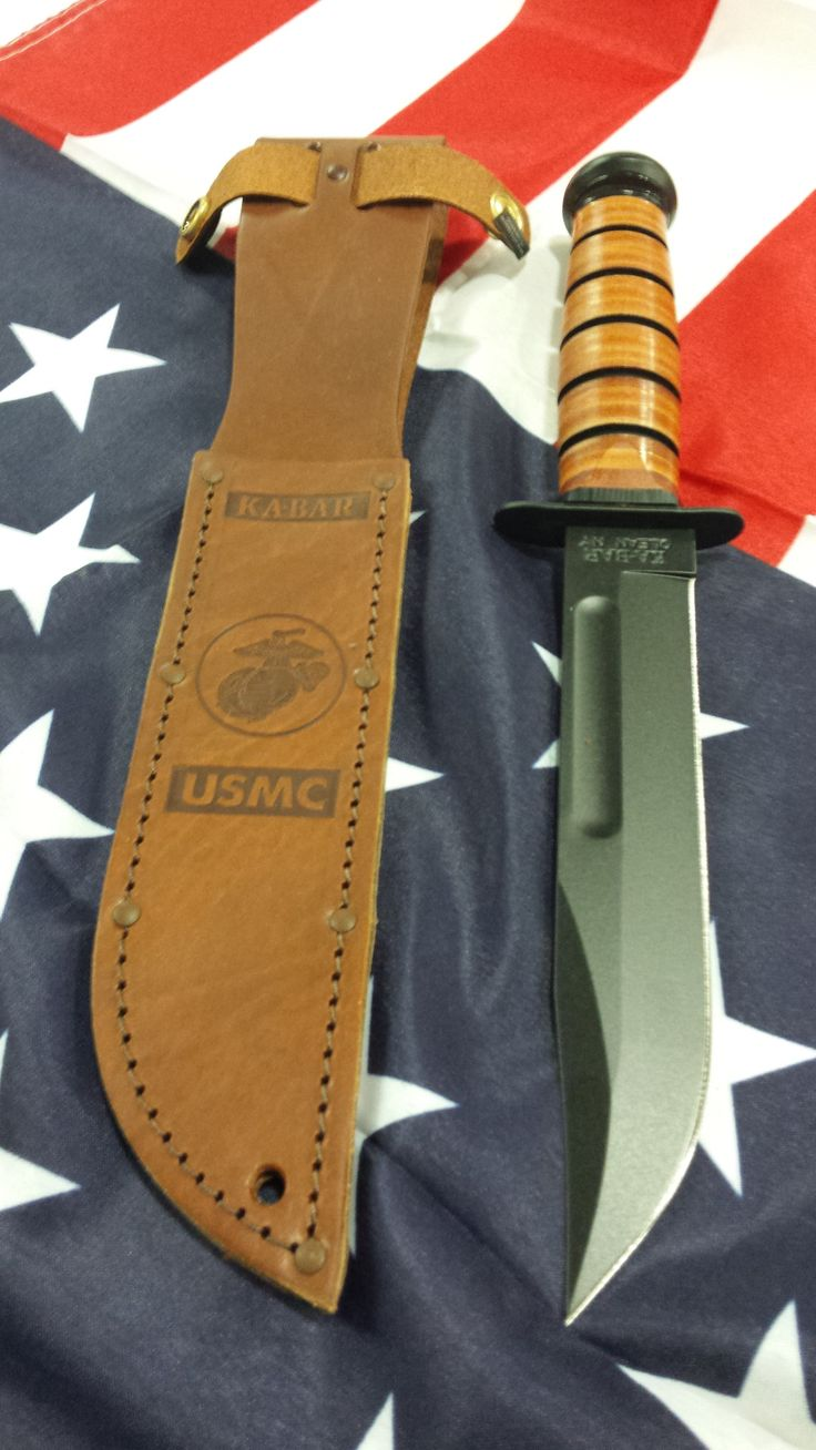 BUDK Knives - The one and only KA BAR USMC Tactical Bowie Knife