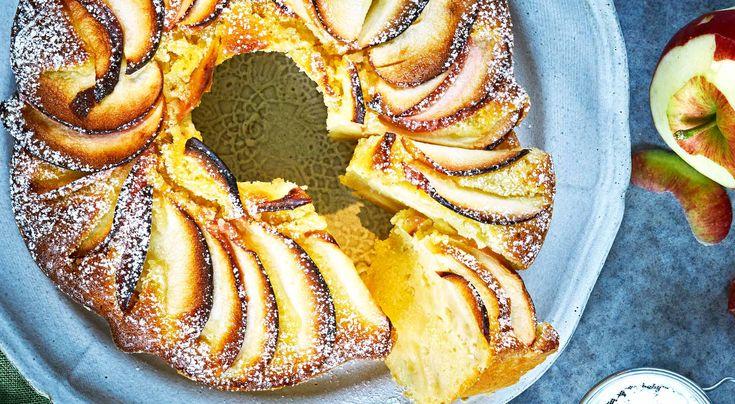 » Saftig äppelkaka – recept – Allt om Mat