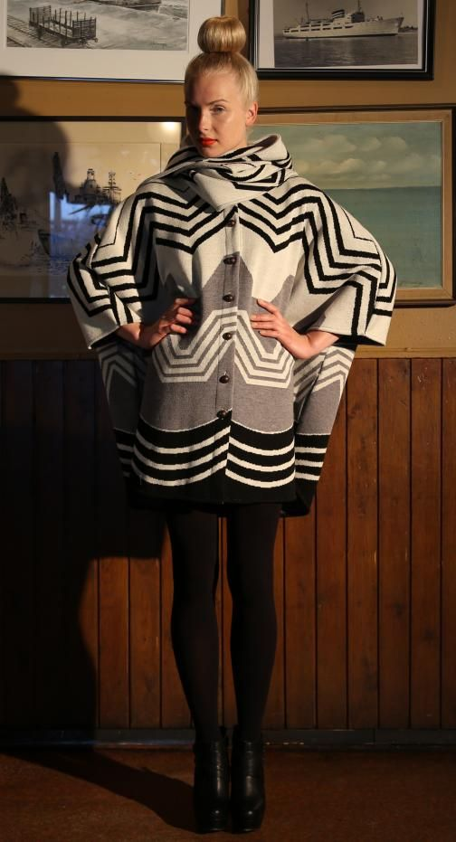 Ivana Helsinki AW13 collection: R coat 3  #ivanahelsinki #fashionflashfinland #fashion #fashiondesigner #designer #aw13 #collection #Finland #Helsinki