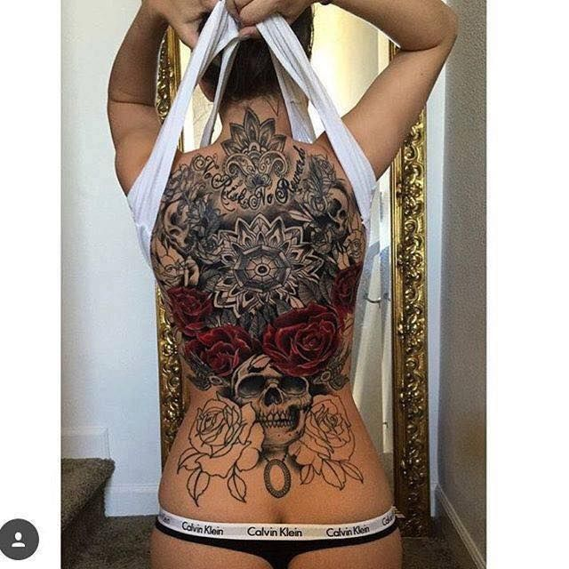 Tattoo For Women Back: 25+ Best Ideas About Full Back Tattoos On Pinterest