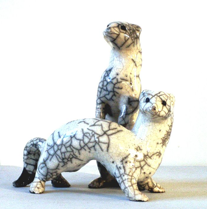 catherine chaillou | hermines catherine chaillou sculpteur ceramiste animalier