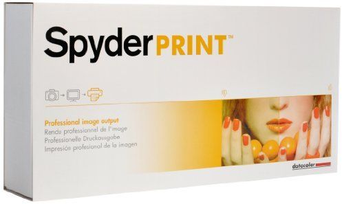 Datacolor Spyder Print S4SR100 by Datacolor. Save 14 Off!. $299.95. From the Manufacturer                  SpyderPRINT lets you effectively manage color in your print output. By selecting any combination of printer, ink, and media in the software, you can control your printer output to create gallery-quality prints in color or black and white. SpyderPRINT includes software and a SpyderGuide device and is designed for professional photographers, fine art printers, production professiona...