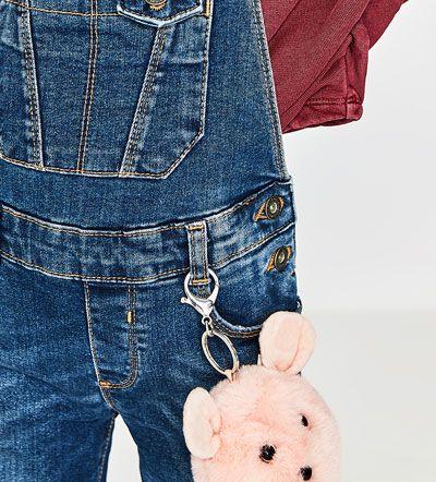 NYCKELRING BJÖRN-Accessoarer-ACCESSOARER-FLICKA | 5 - 14 år-BARN | ZARA Sverige