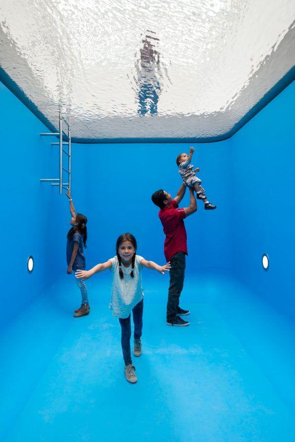 Museum Voorlinden - Leandro Erlich's Swimming Pool
