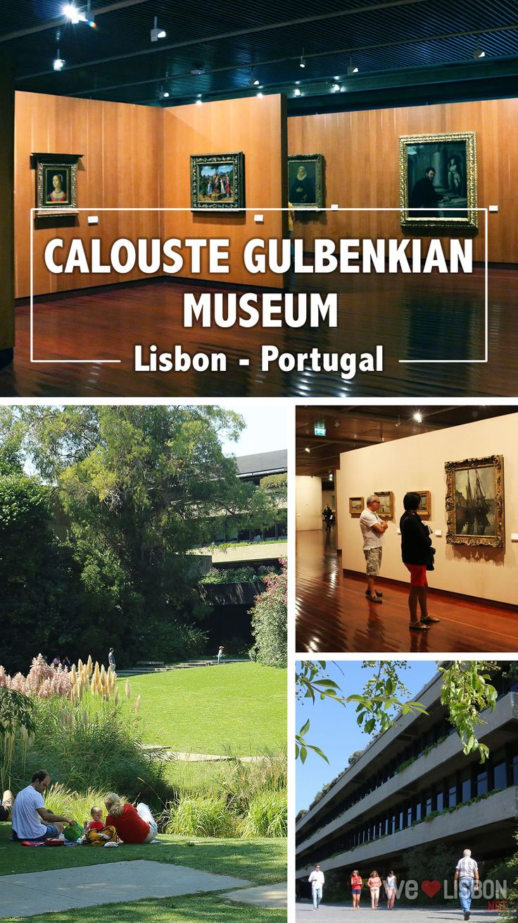 This outstanding museum puts Lisbon's culture scene on the world map. Founded in 1969, according to Calouste Gulbenkian's last will, to accommodate and display his vast art collection, it belongs now to the Calouste Gulbenkian Foundation.