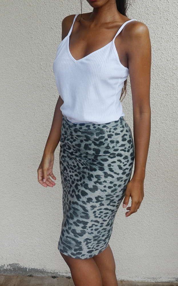 Fashion House - White&Black skirt
