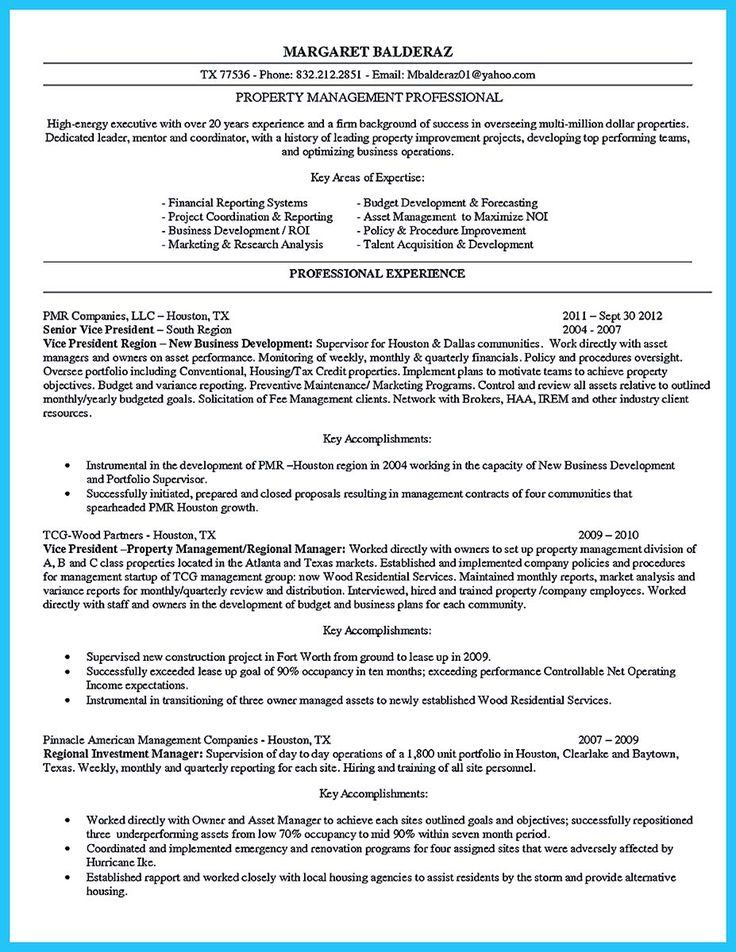 Apartment Manager Resume Amusing Bat3Sisters Jensantiago0973 On Pinterest