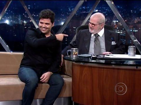 Jô Soares faz entrevista hilária com Gustavo Mendes faz uma imitação de ...