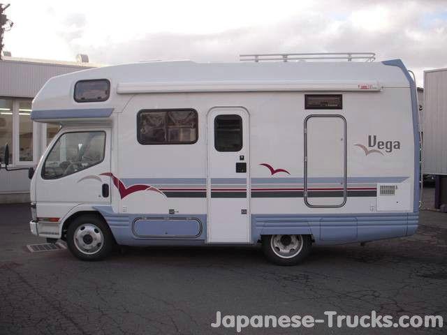 Box Truck Camper 2000 Mitsubishi Canter Camper Truck