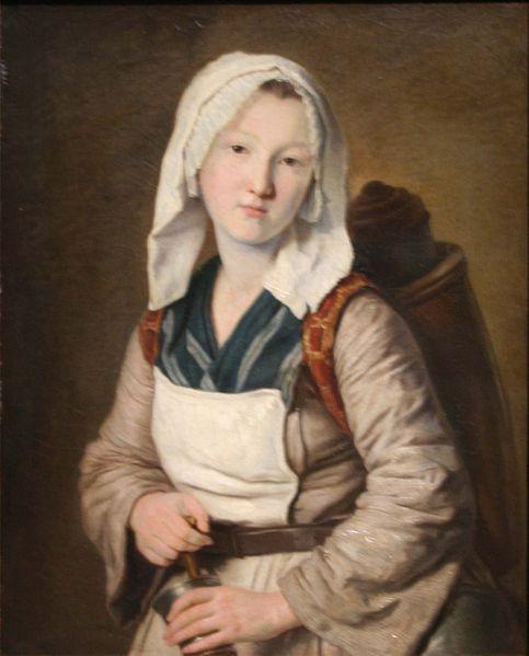 Françoise Duparc La marchande de tisane. 1778