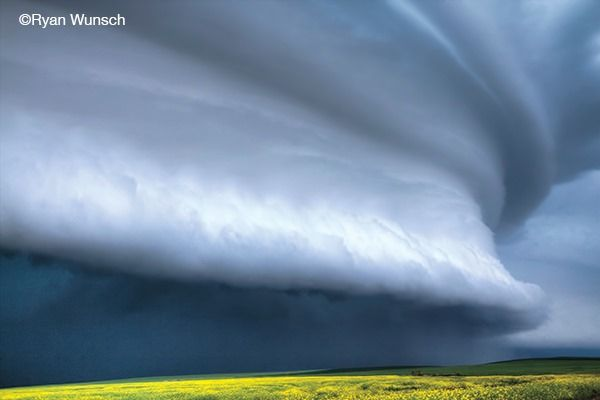 Saskatchewan photographer Ryan Wunsch in Outdoor Photography magazine