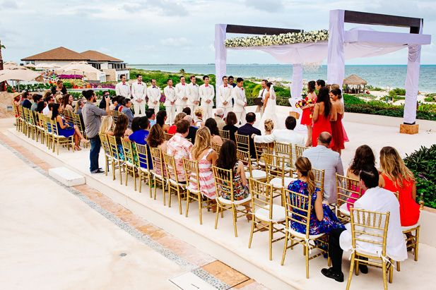 A Very Special Mexico Wedding at Secrets Playa Mujeres (Photo by Melissa Mercado Photography)