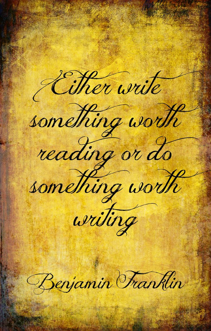 Quotes on reading and writing