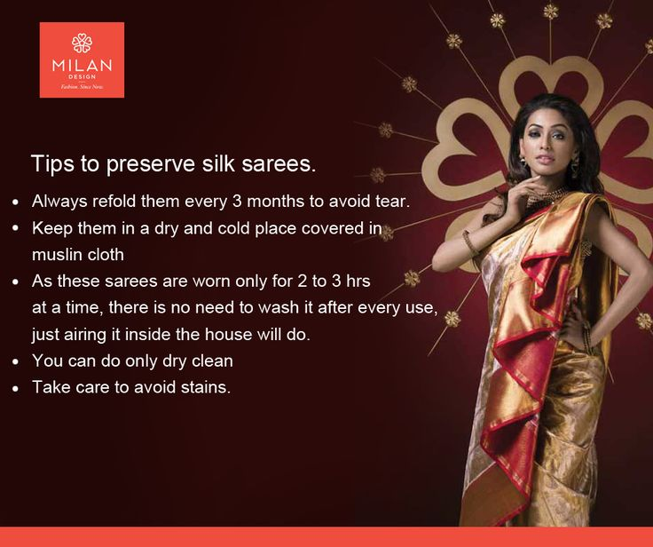 Tips Of the Day How to Preserve Silk Sarees ??? visit site : www.milandesign.in  #kanchipuramsareeskochi #sareecollectionskochi #milanweddingsarees #milanfashionsarees #milancottonsarees #milansilksarees #milanfabricsarees #milanladiessarees #ladiesfashionsarees #milanpartywearsarees #milankanchipuramsarees #milandesignerkurtas #milankurtas #designerkurtaskochi #trendykurtas #designerkurtaskochi #milanduppatas
