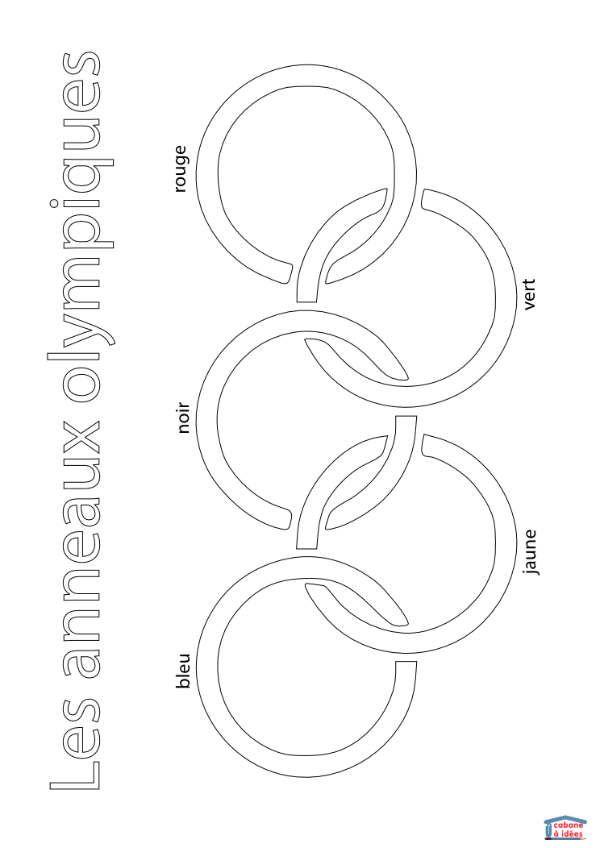 Les 25 meilleures id es de la cat gorie anneaux olympiques sur pinterest co - Anneau des jeux olympique ...