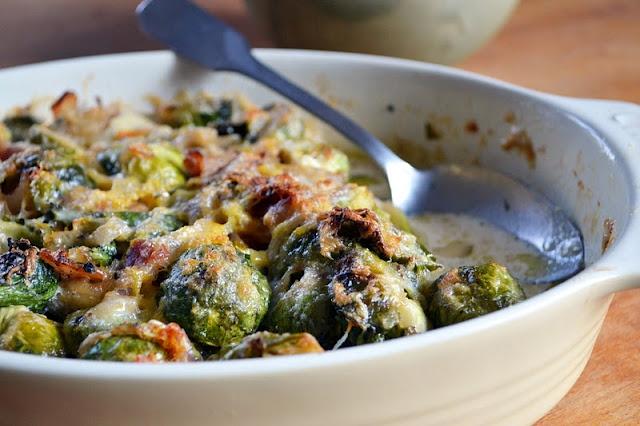 brussel sprout gratin | Food | Pinterest