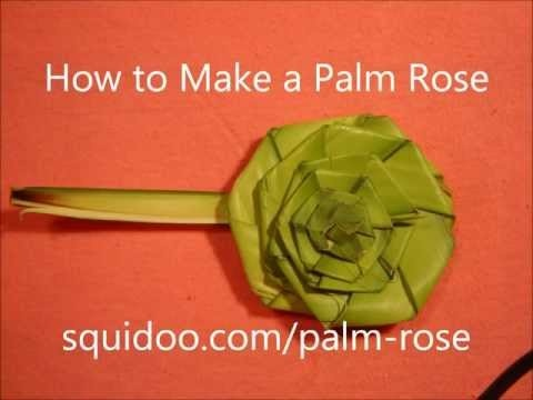 Palm Sunday: Make a Palm Rose