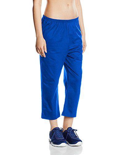 Trigema Damen Schlafanzughose 537292 Blau (Royal 049) XX-Large. 100 %  Baumwolle ad2fdefa609
