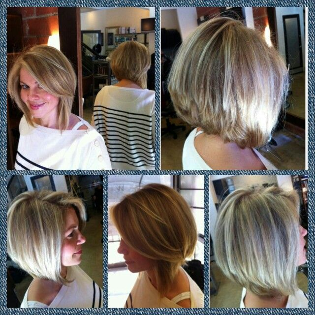 Candace Cameron Bure's short angled bob from all angles: front, back, left, and right!