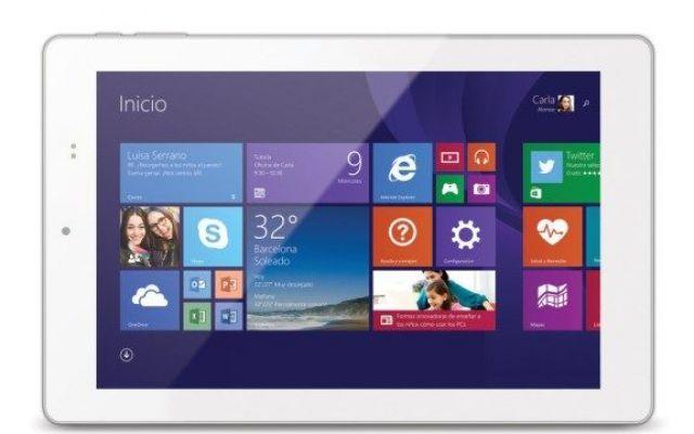 Microsoft rivela un nuovo tablet con Windows 8.1 Microsoft ha presentato un nuovo tablet realizzato per il Real Madrid, la famosa squadra di calcio della Spagna.  All'interno è presente il processore quad-core Intel Atom Z3735F e dispone di un disp #microsoft #tablet #windows