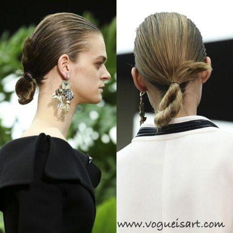 Burgu Topuz,Auger Bun Hairstyle,2014-2015 f/w hairstyle,2014-2015 f/w hair fashion,2014-2015 f/w hair trends,2014-2015 sonbahar/kış saç trendleri,2014-2015 sonbahar/kış saç modelleri,2014 saç modelleri,2015 saç modelleri,2015 yaz saç modelleri