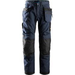 Jobman Technical Bundhose Baumwolle – Arbeitshose mit Kniepolstertaschen – schwarz – kurz – Gr.23Ter