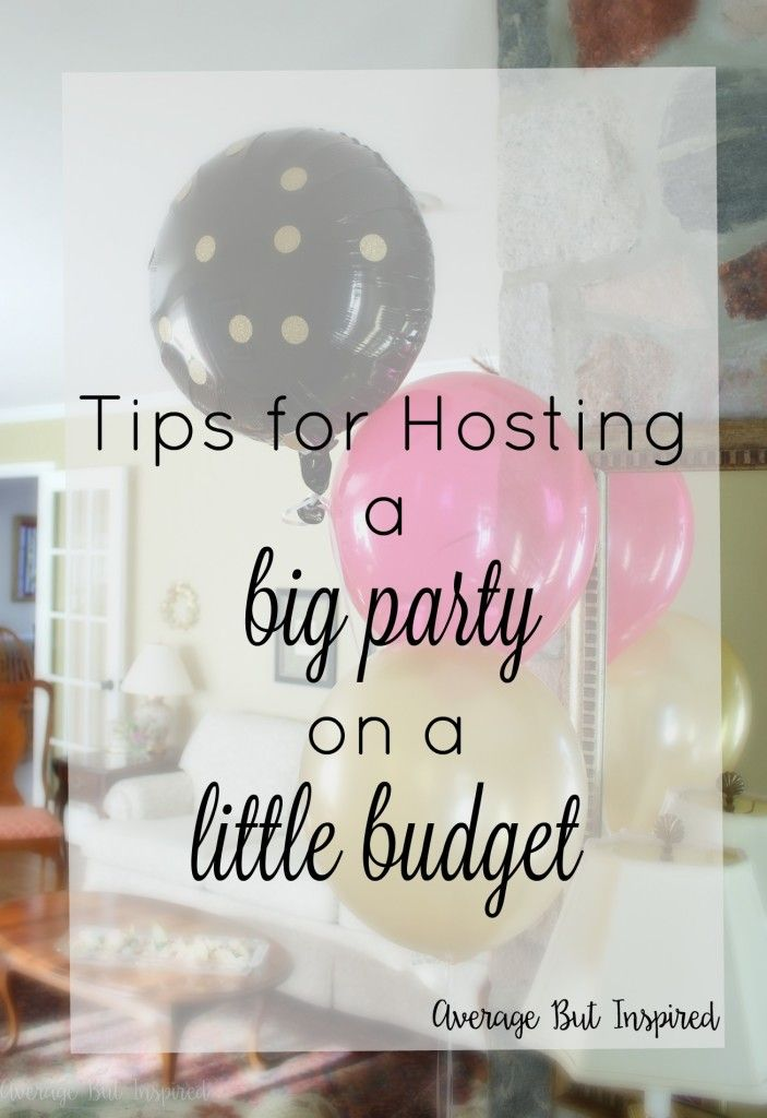 These tips are great and will save you so much money if you're planning a big party anytime soon! Click through to find out how to plan effectively and throw a party that people won't know didn't cost a fortune to host!