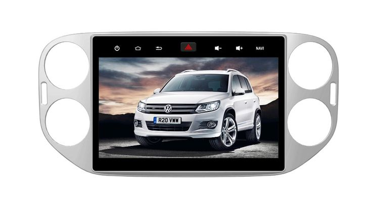 """Deckless Quad Core 10"""" Android 6.0 Car DVD Player for Volkswagen VW Tiguan 2011-2013 audio wifi stereo head units tape recorder"""