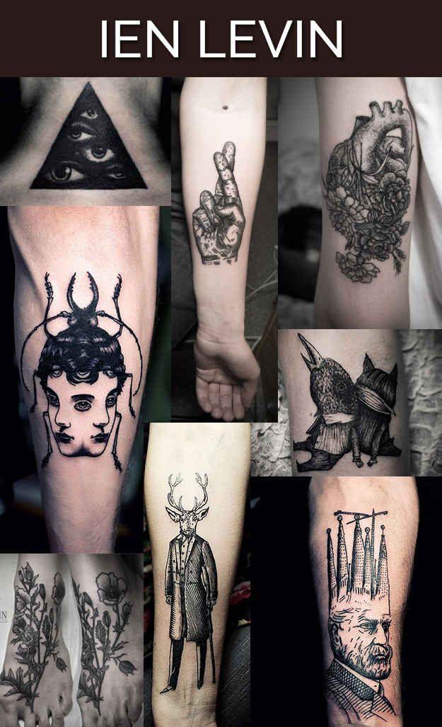 Ien Levin, Kiev, Ukraine. | Les 13 meilleurs artistes tatoueurs du monde