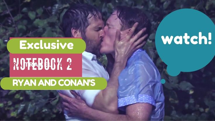 Ryan Reynolds, Conan O'Brien Make Out in 'The Notebook 2!