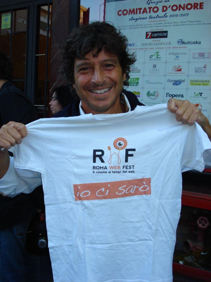 ...e poteva forse mancare Michele La Ginestra? www.romawebfest.it