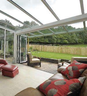 modern style conservatory, veranda conservatory, modern conservatories