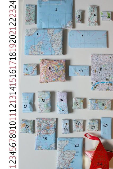let's be creative!: Advent Calendar No. 1: for globetrotters