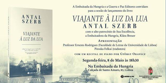 Sinfonia dos Livros: Convite Guerra&Paz   Viajante à Luz da Lua   Antal...