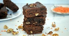High-Protein Lentil Brownie Recipe with Walnuts