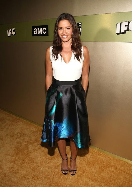 Actress Mercedes Masohn attends AMC Networks Emmy Party at BOA Steakhouse on…