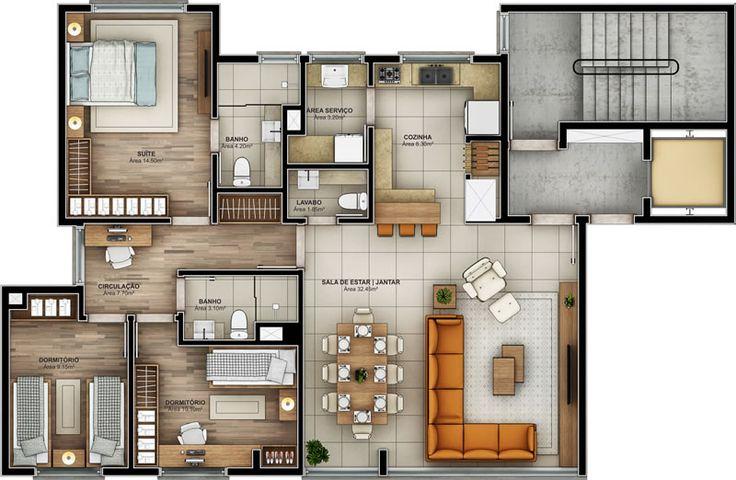Allegro Residencial - Apartamento 3 dormitórios 01