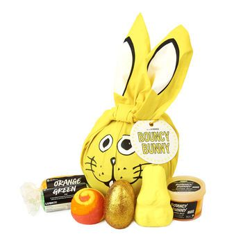 Best 25 lush gift set ideas on pinterest lush gifts lush bouncy bunny gift wrapped in a reusable knot wrap and bursting with treats negle Images