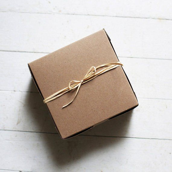 Set Of 10 12 X 12 X 5 Inch Kraft Or White Bakery Boxes Etsy Gifts Bakery Boxes Gift Box