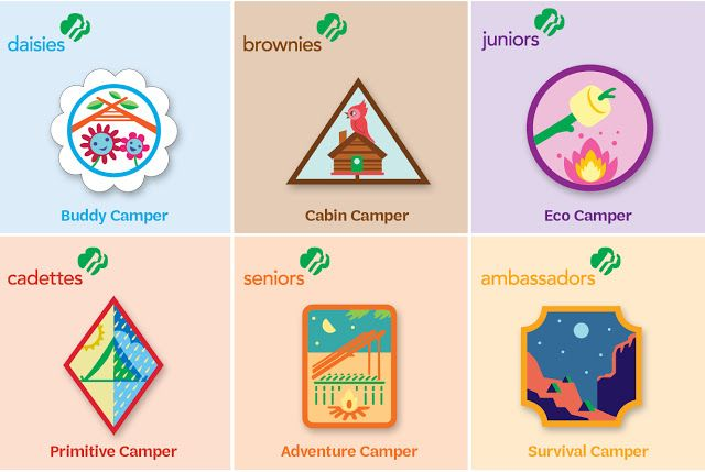 Learn more about the seven new Girl Scout outdoor badges. From their first steps on a woodland path as Daisies to going survival camping as Ambassadors, girls will take the lead by planning their trips, practicing survival skills, and pushing themselves as they have unforgettable adventures.