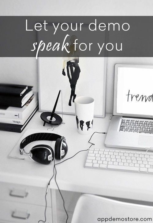 """Let your demo speak for you! We offer you two ways to do this: you can type a text to be automatically spoken in the """"Text to speech"""" box, or you can upload an audio file. Choose what is better for you. #appdemostore #tutorial #demo #speak"""