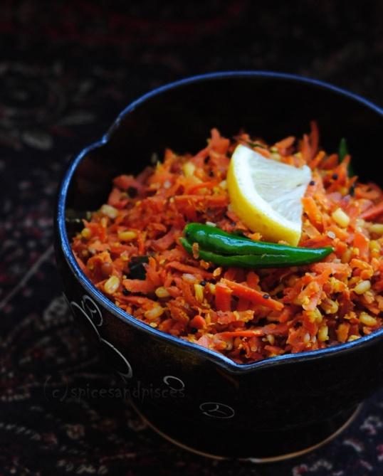Stir Fried Carrot Salad | vegetables | Pinterest
