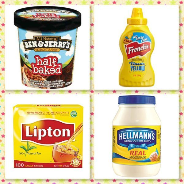 Ben & Jerry's, Hellmann's Mayo, French's Mustard, and Lipton Tea Bags ONLY $0.75 at CVS!