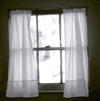 Sheer curtains to cover up ugly bathroom window. 7 best For the Home images on Pinterest