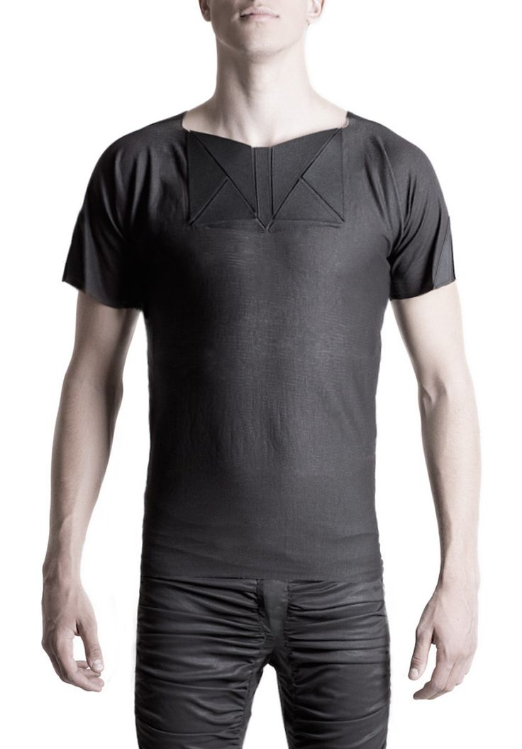 Men's T-shirt applicated #PANTHEIST #CORVUScolletion #menswear pantheist.co