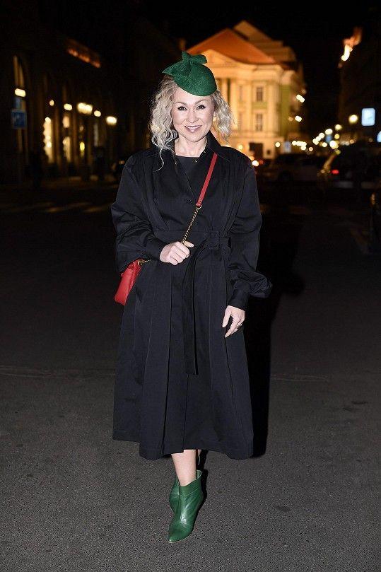 Kateřina byla hostem pražského fashion weeku.